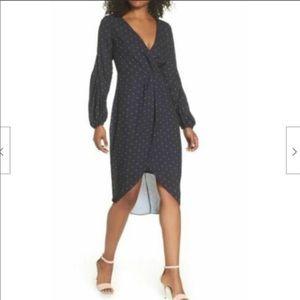 Cooper St Dress Sz 10 Portia Black White Polka Dot